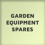 Garden Equipment Spares