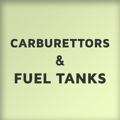Carburettors and Fuel Tanks