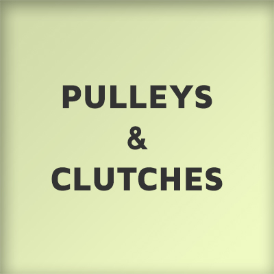 Pulleys and Clutches