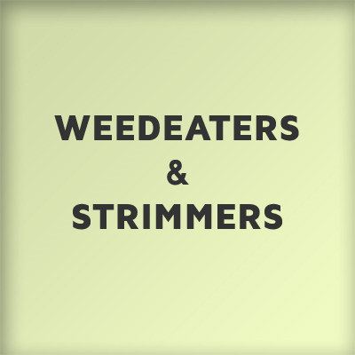 Weedeaters and Strimmers